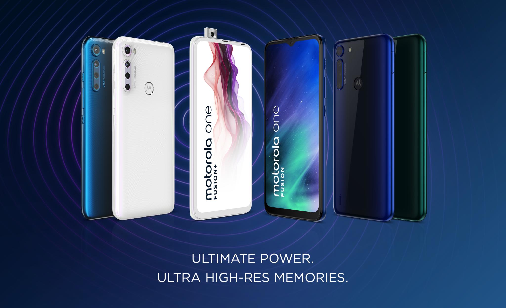 Новый Motorola One Fusion