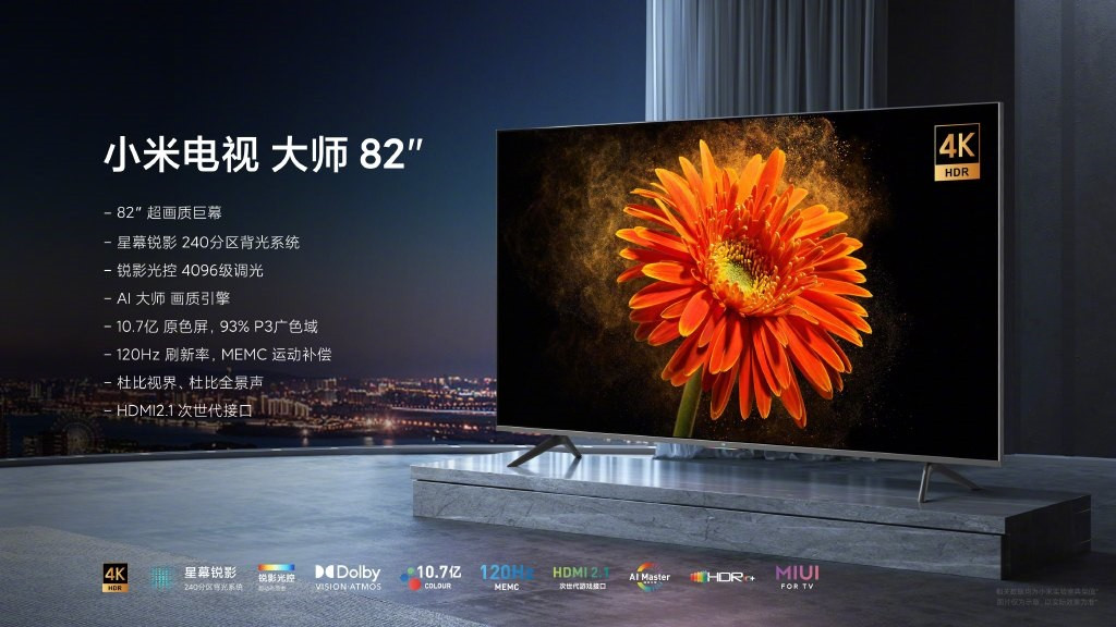 Умный телевизор Xiaomi