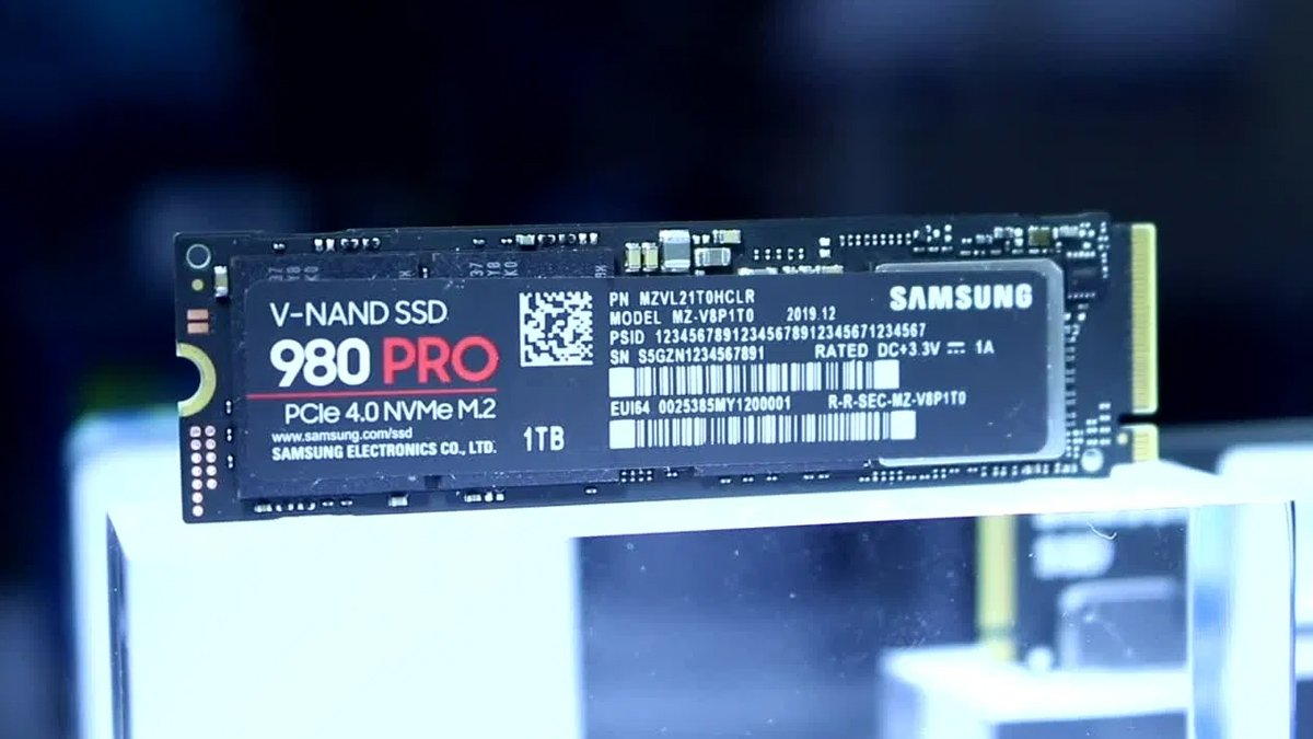 Samsung запускает продажи 980 Pro
