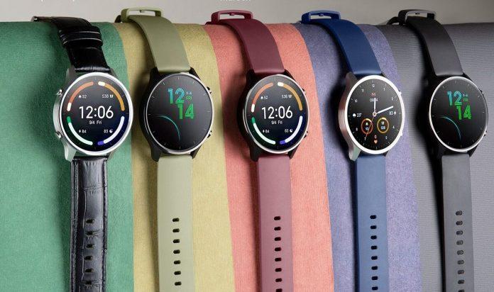 Палитра цветов Xiaomi Mi Watch Revolve