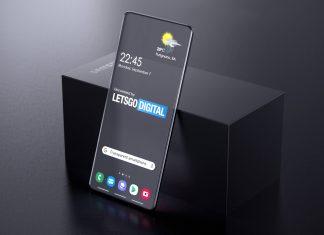 новый прозрачный телефон
