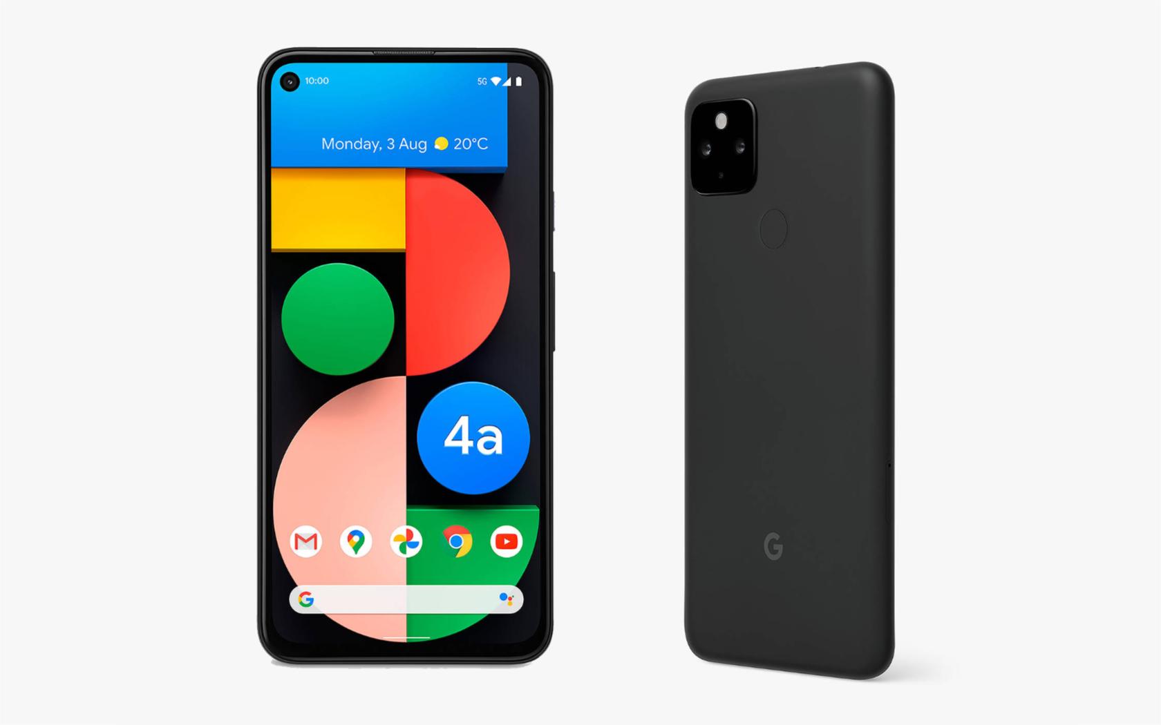 Внешний вид Pixel 4a 5G