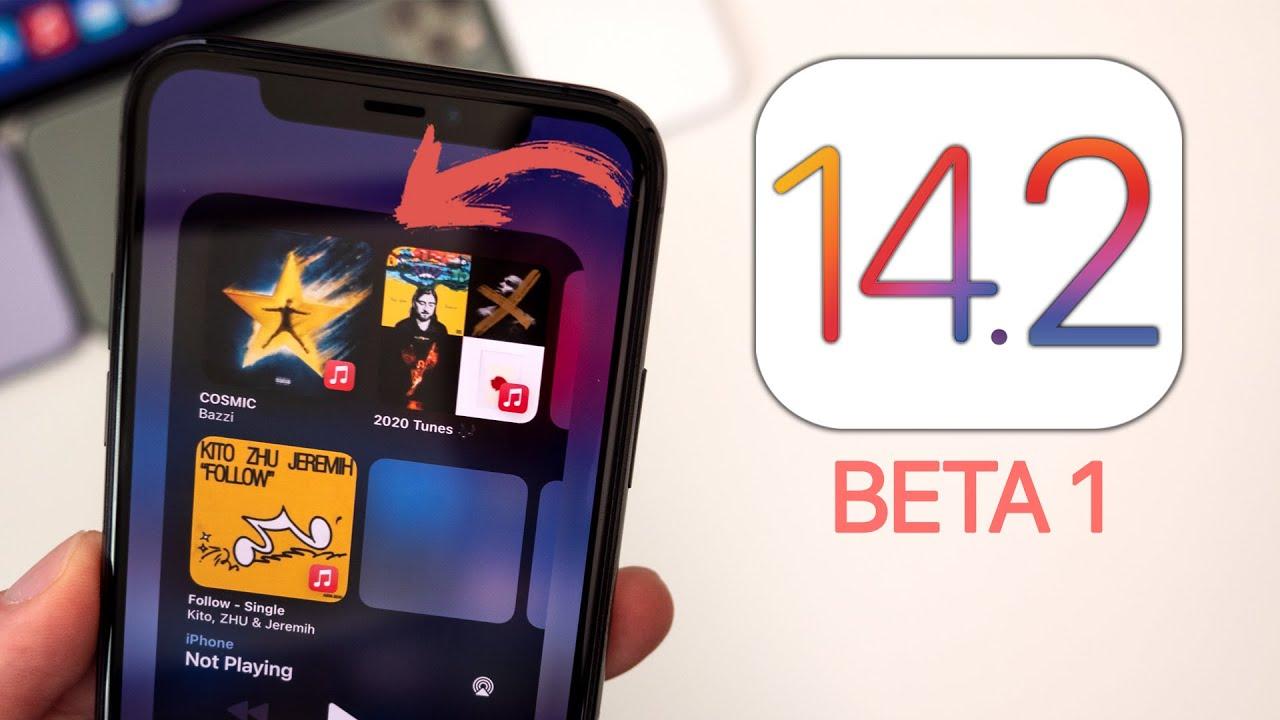 iOS 14.2 версия бета
