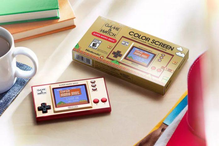 Внешний вид Nintendo Game&Watch