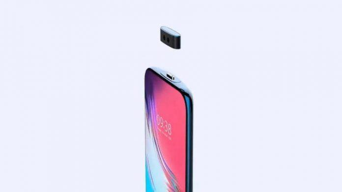 Первая модель смартфона со снимающейся камерой
