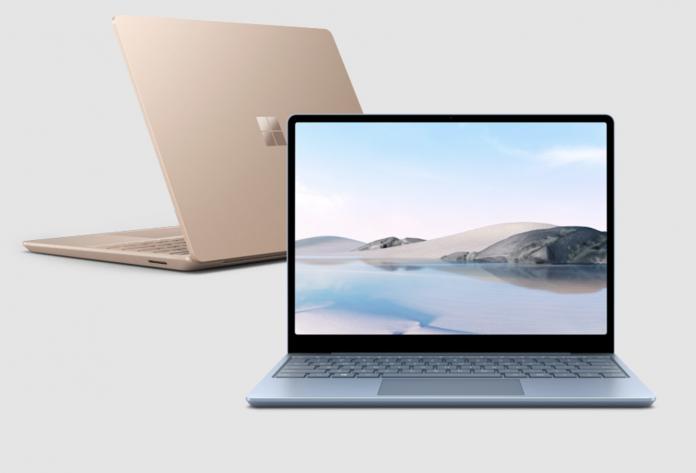Внешний вид ноутбука Surface Laptop Go