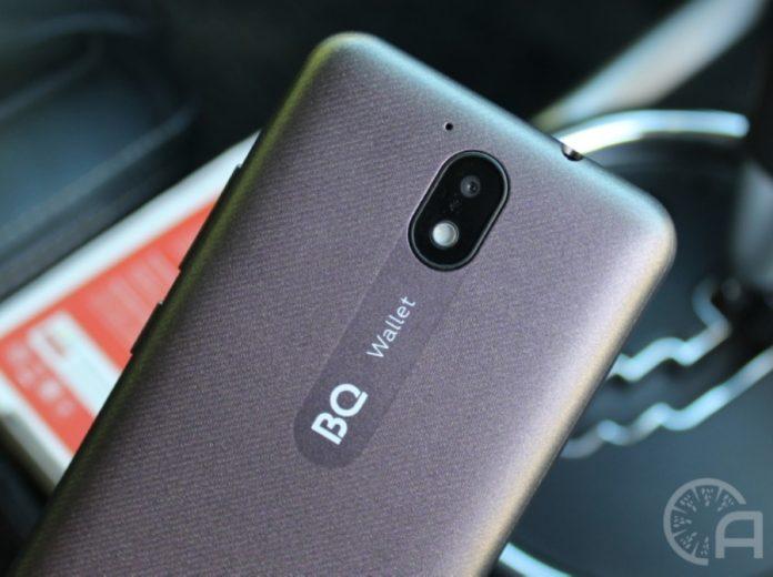 Бюджетный смартфон BQ 5045L Wallet