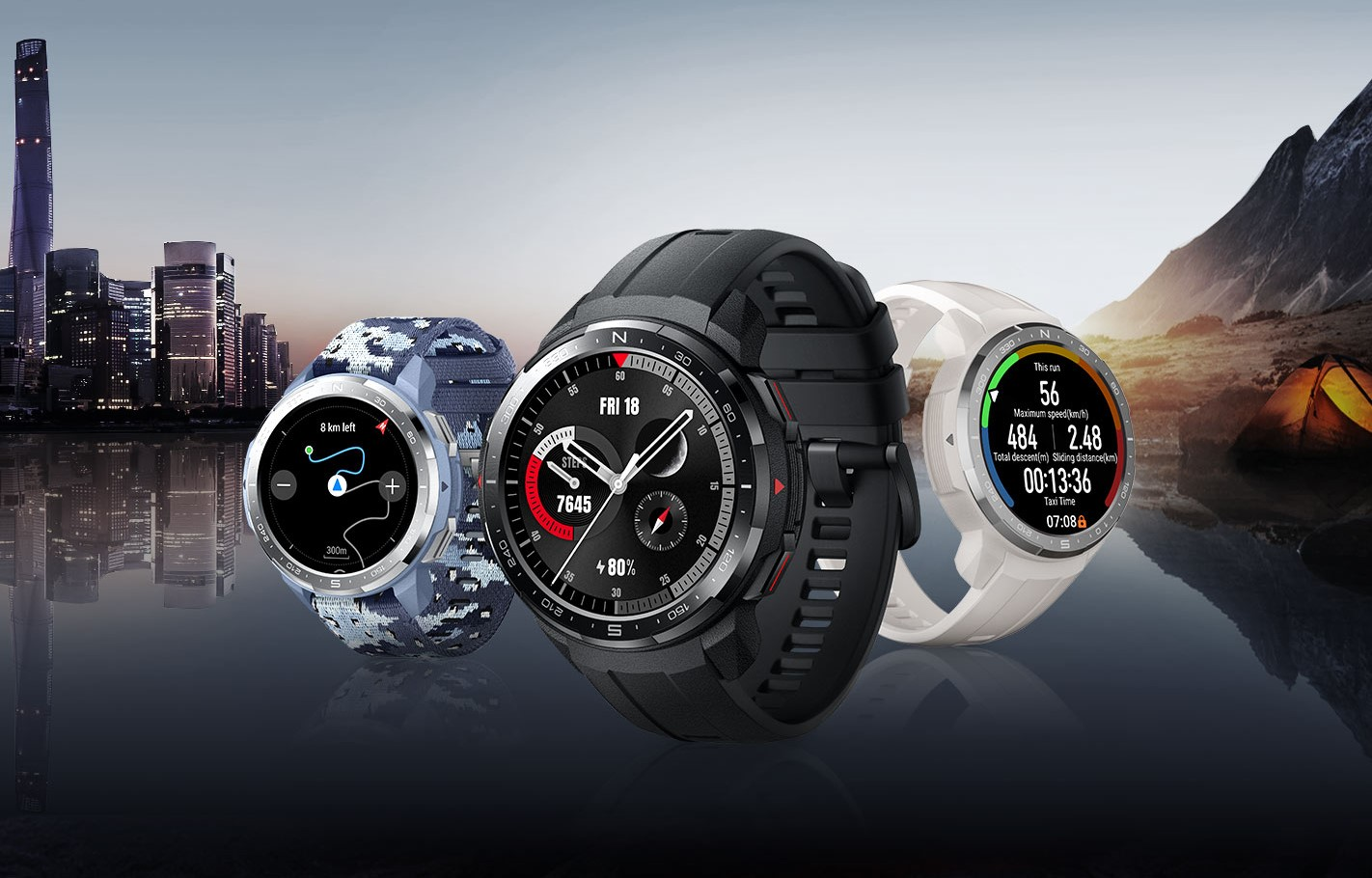Варианты цветов Honor Watch GS Pro