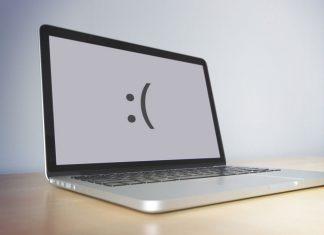 Ноутбук сломался