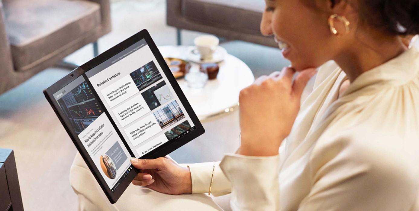 Гибкий ноутбук Lenovo ThinkPad X1 Fold