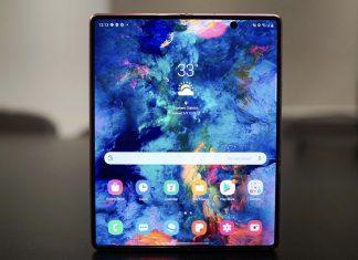 Экран Galaxy Z Fold2