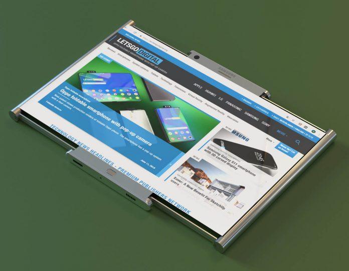 Футуристический дизайн смартфона
