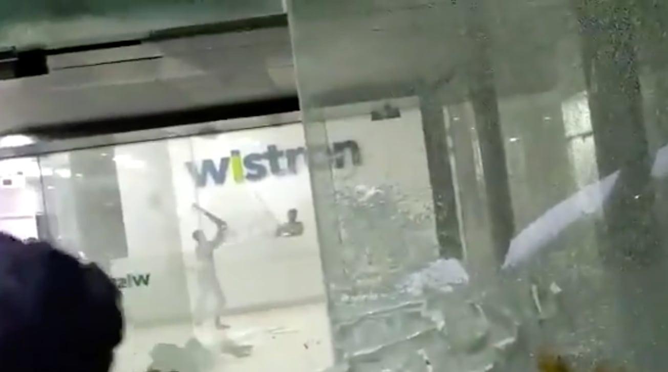 Бунт на заводе Wistron
