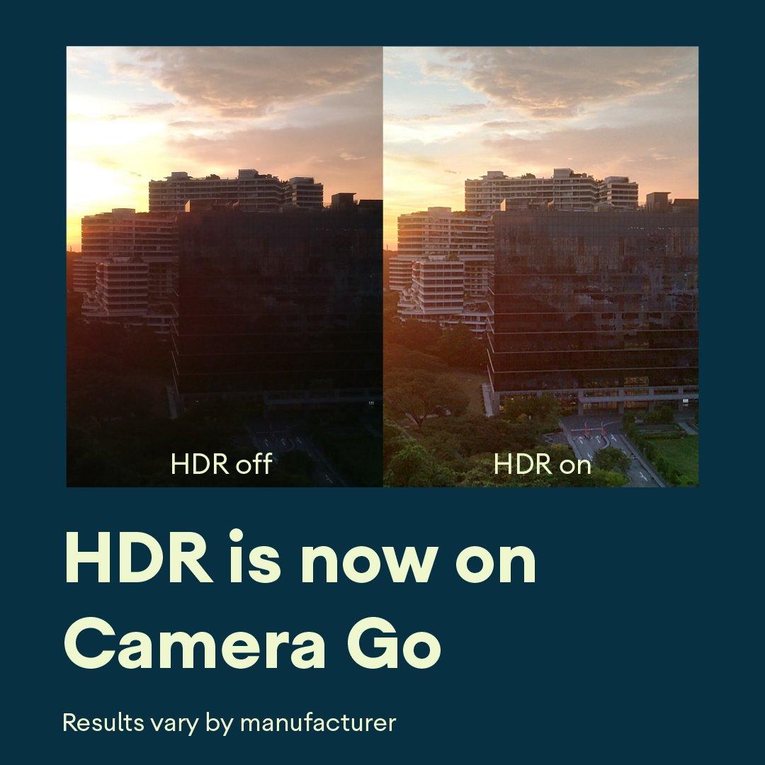 Пример работы HDR