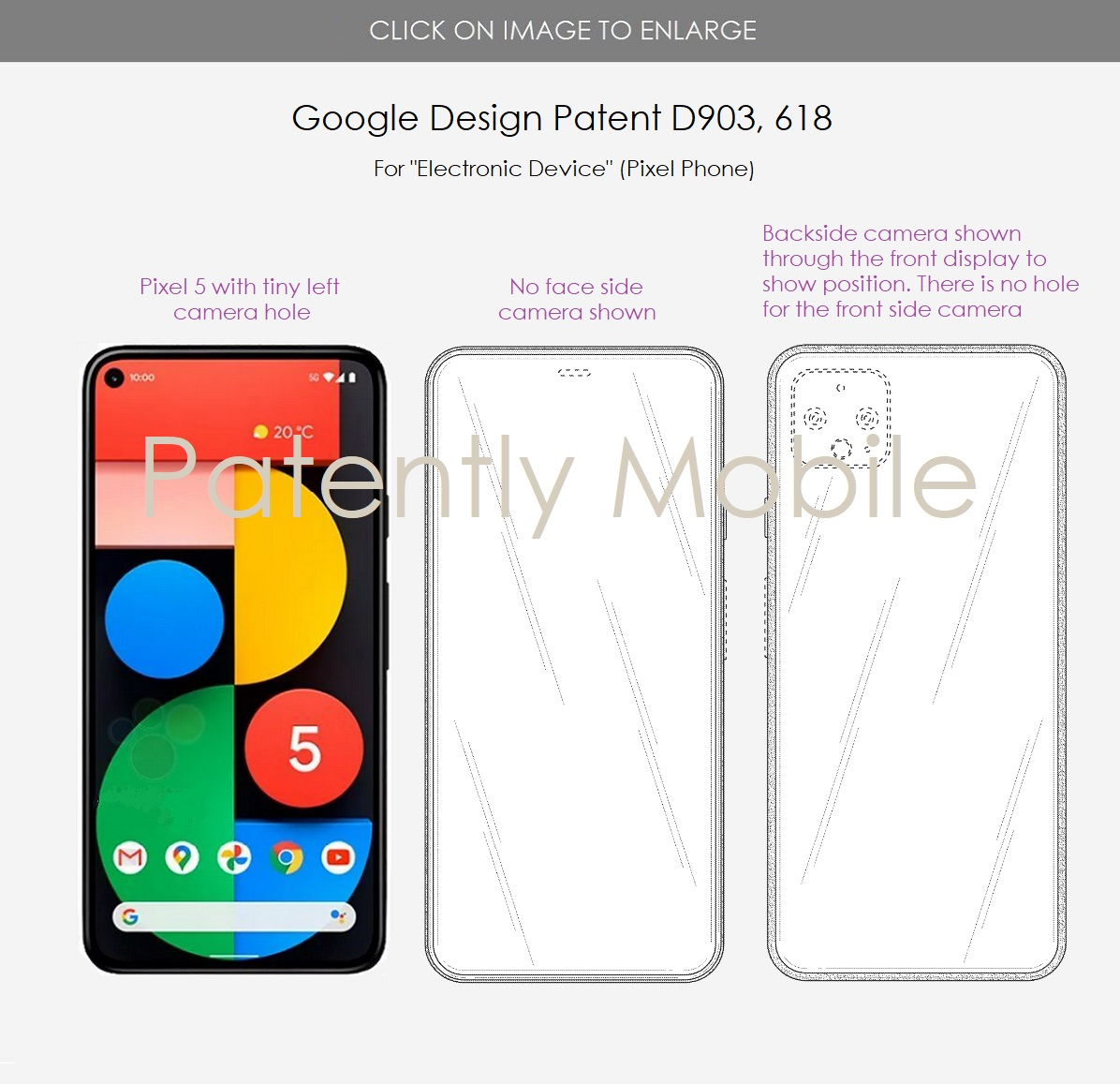 Новый патент Google