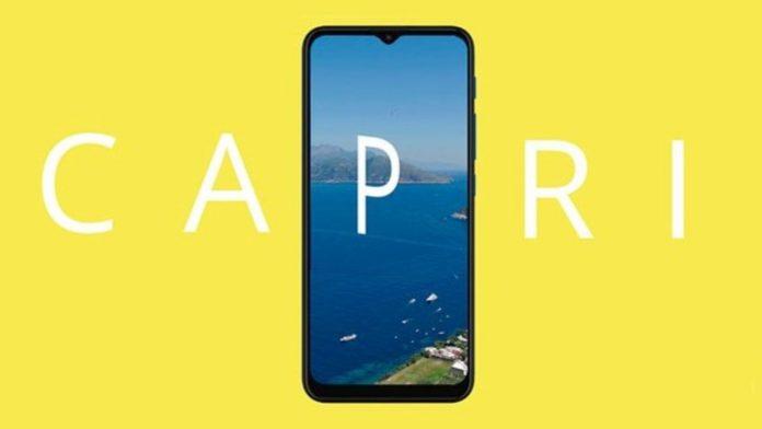 Внешний вид Motorola Capri