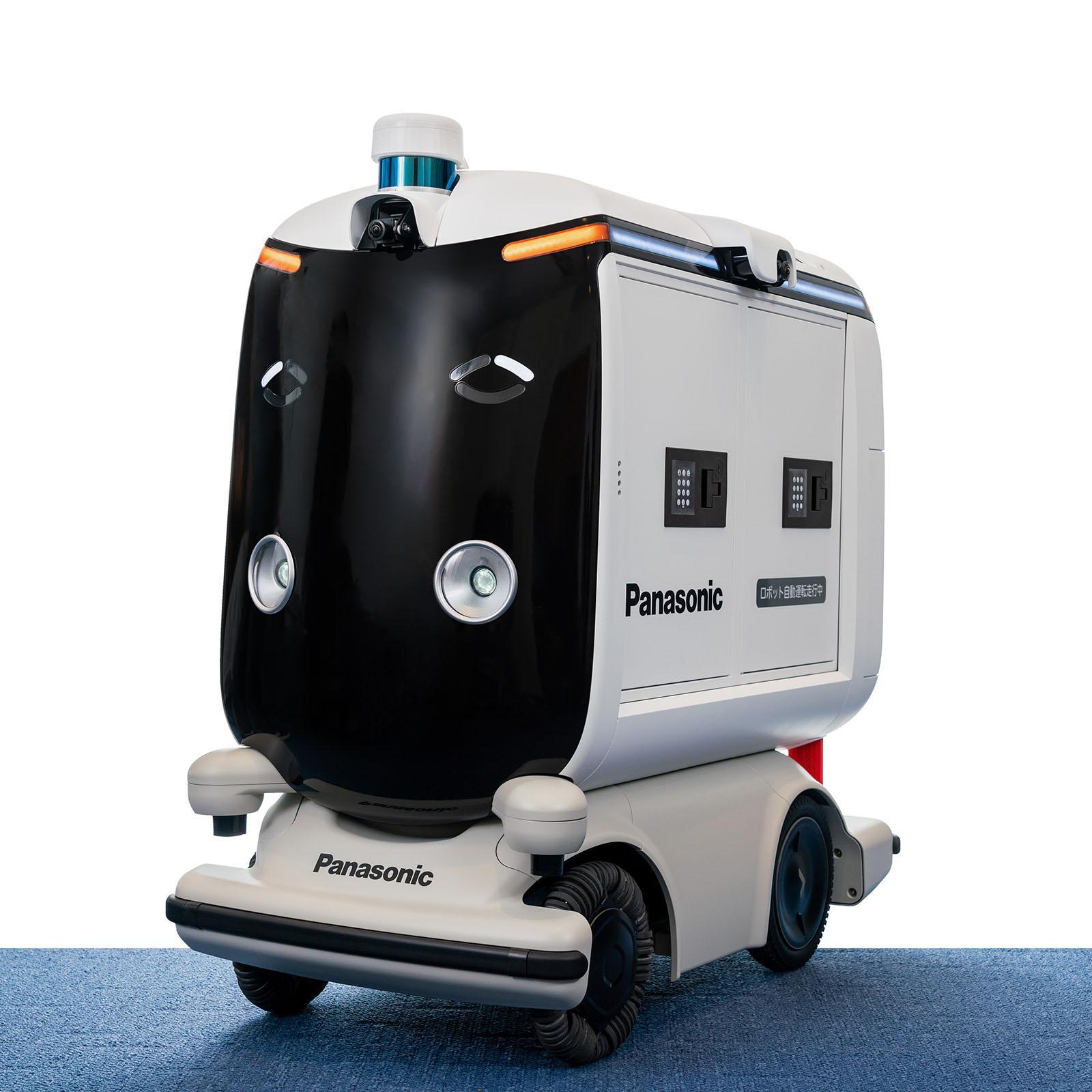 робот-курьер от Panasonic
