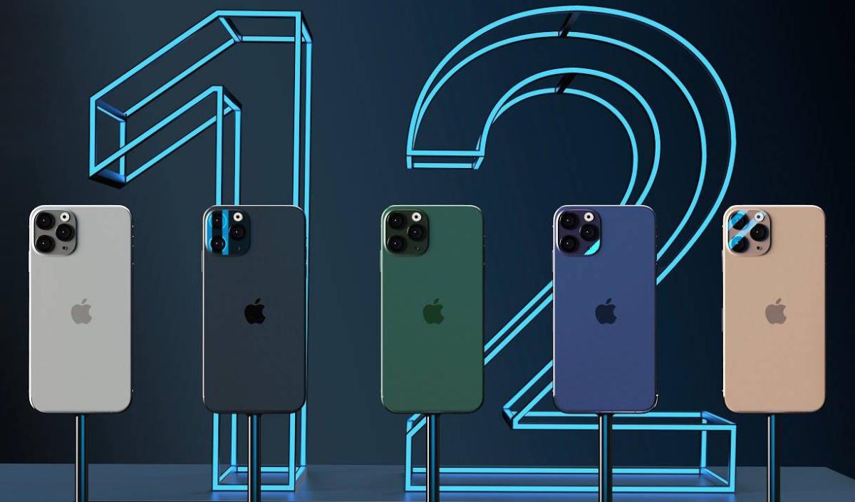 палитра цветов iPhone 12