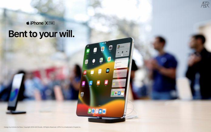 складной телефон от apple