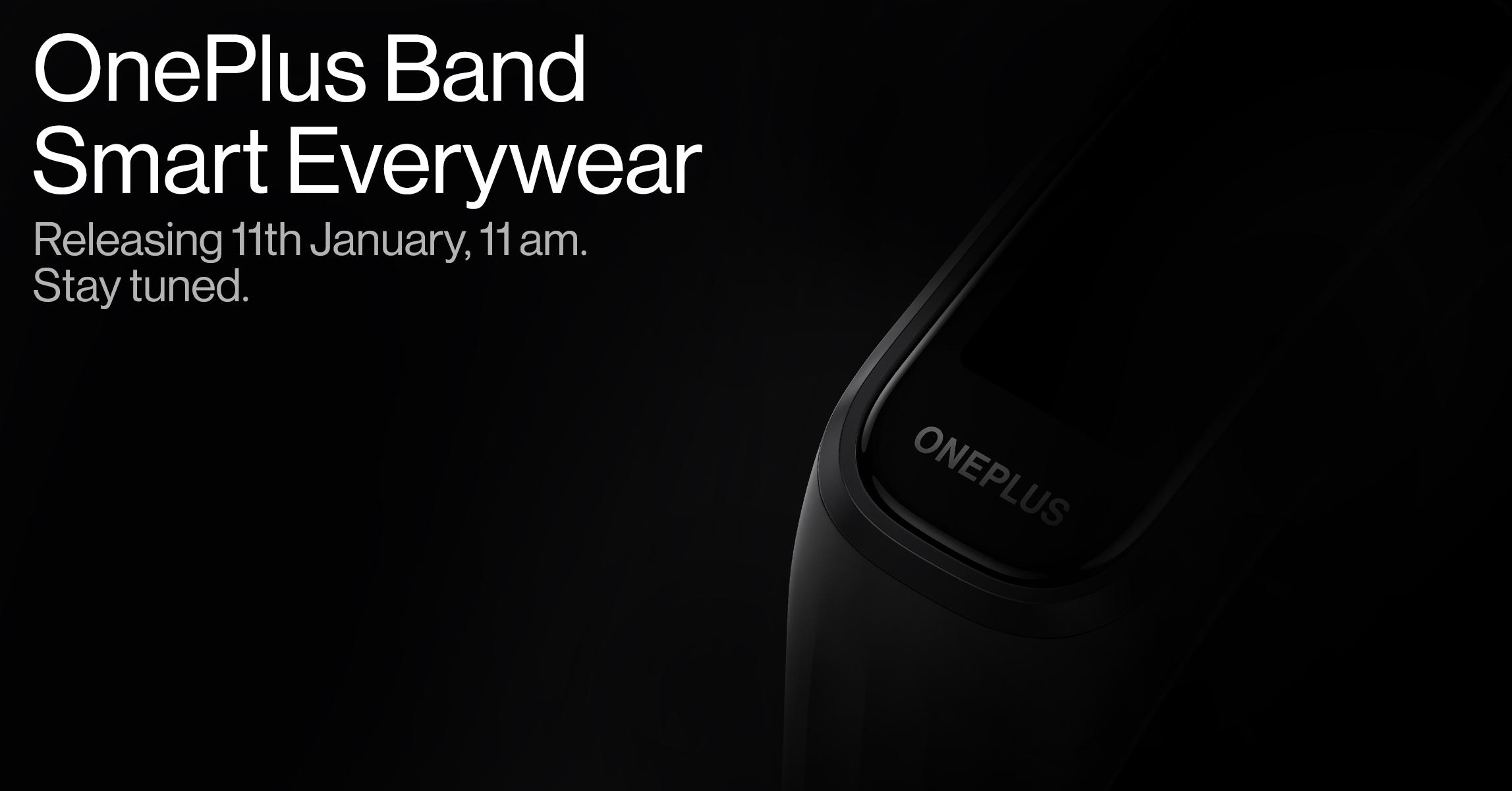 Презентация фитнес-браслета OnePlus Band