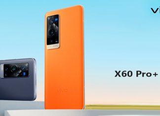 Внешний вид Vivo X60 Pro+