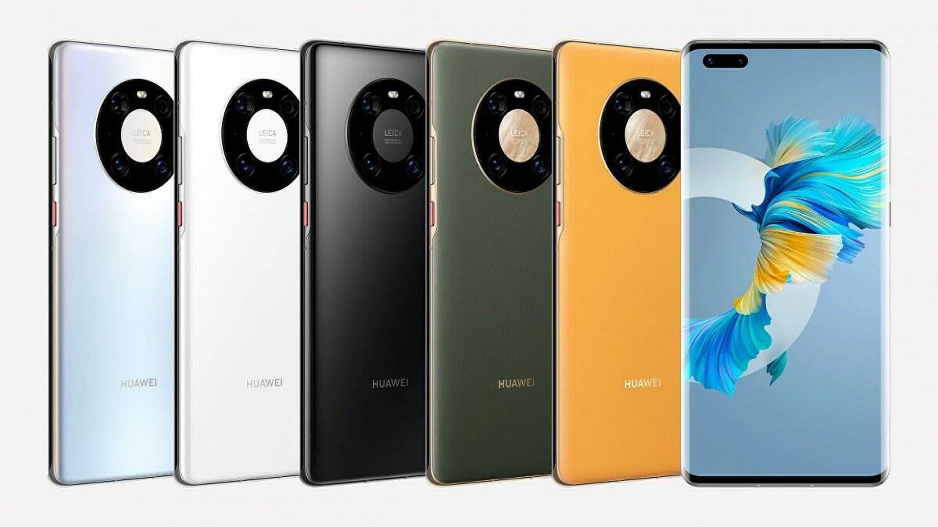 Цветовая гамма Huawei Mate 40 Pro