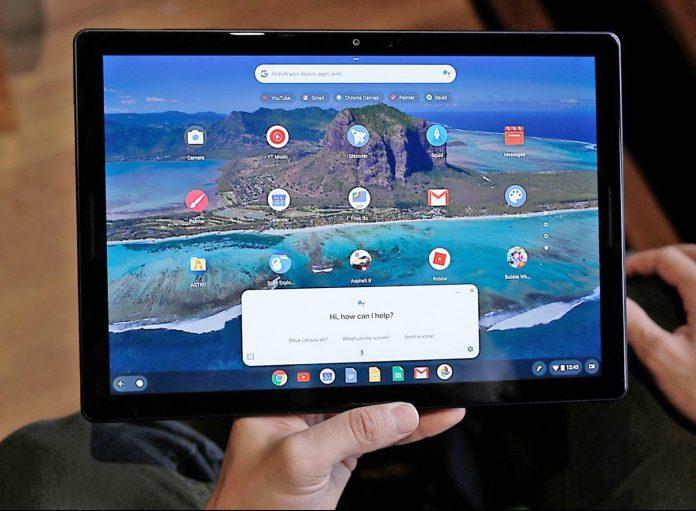 Chrome OS на планшете