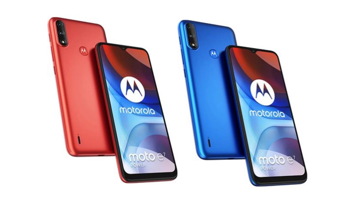 Внешний вид Motorola E7 Power