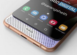 Предполагаемый дизайн Samsung Galaxy A82