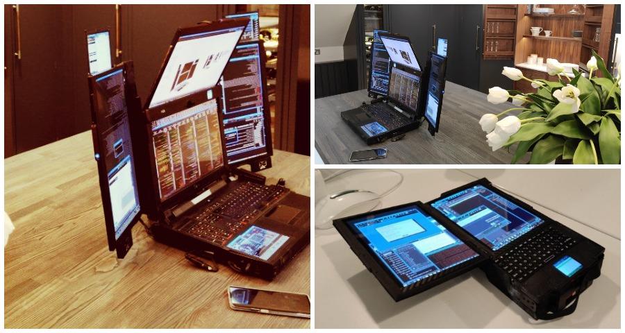 многоэкранный ноутбук от Expanscape