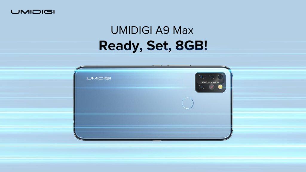 Новинка - Umidigi A9 Max