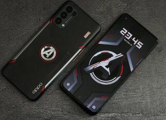 Новы смартфон OPPO в стиле Marvel и «Мстителей»