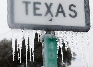 В Техасе непогода